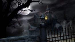 Halloween Wallpaper Haunted House