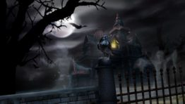 Halloween Wallpaper Haunted House 768×432