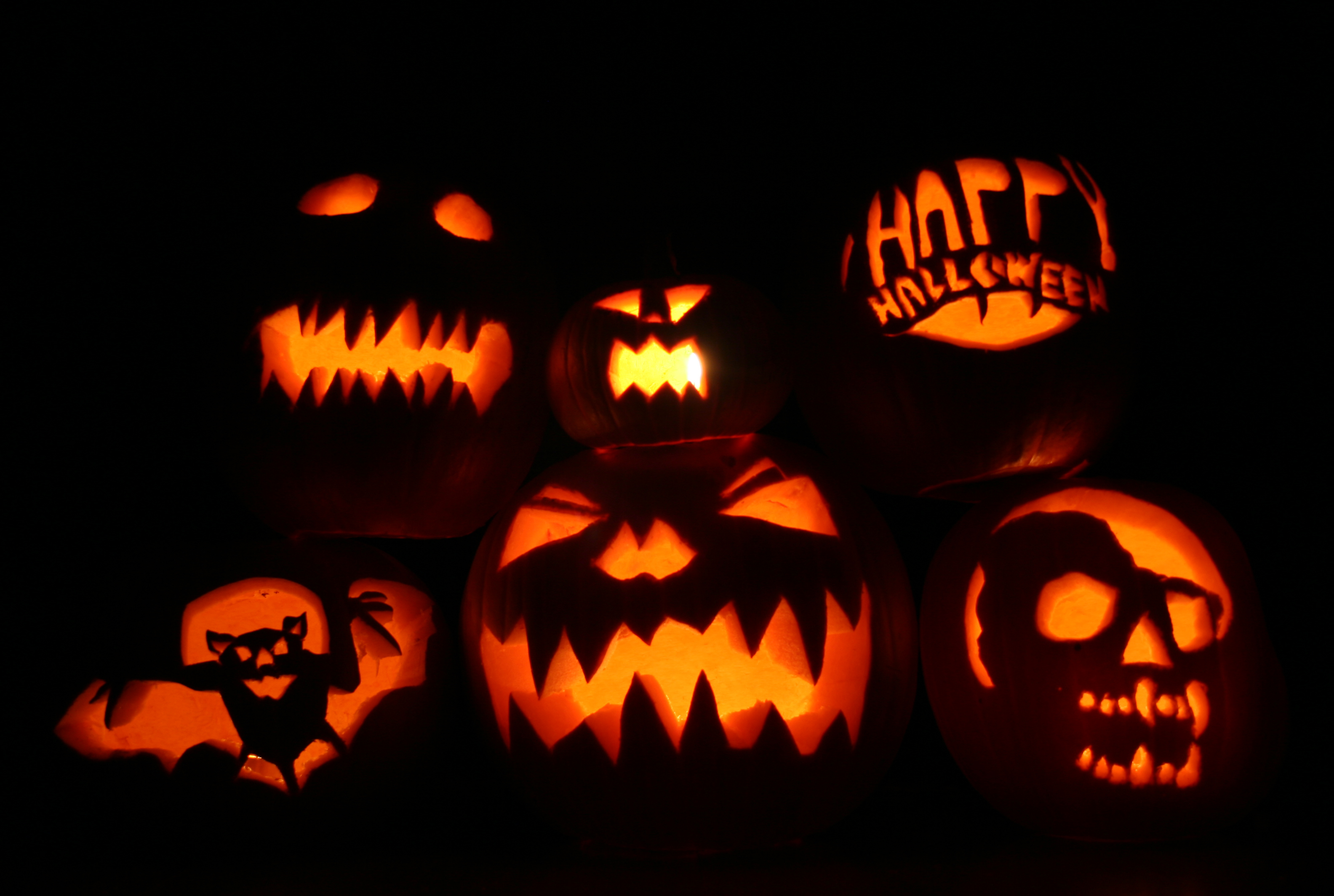 Halloween Wallpaper Pumpkins2