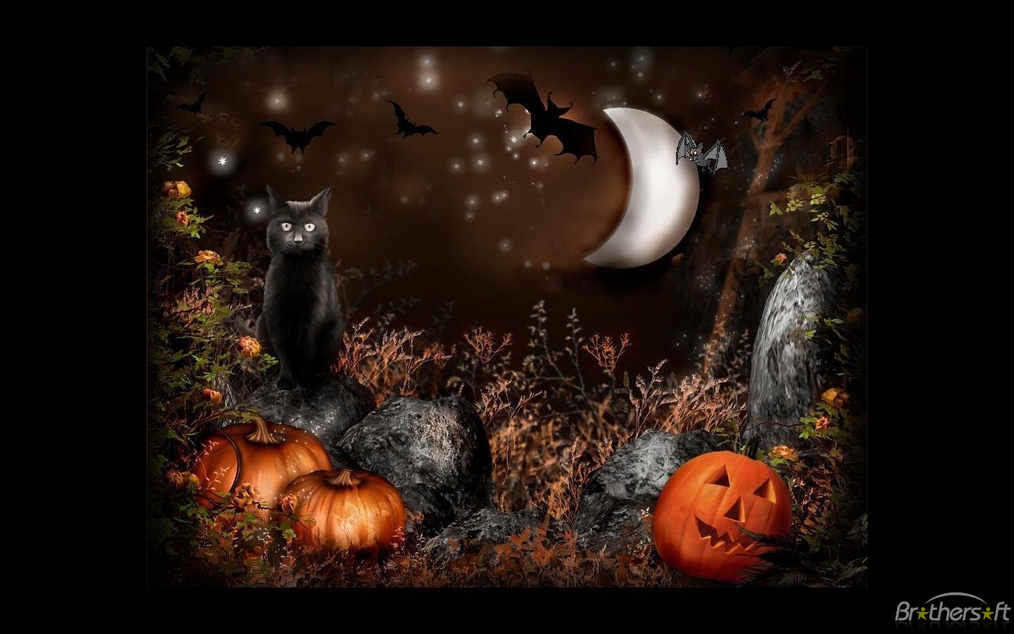 Animated Halloween Screensavers With Sound | All HD Wallpapers