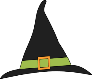 Halloween Witch Hat Clip Art 300×259