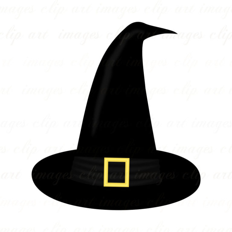 Halloween Witch Hat Clip Art 768×768