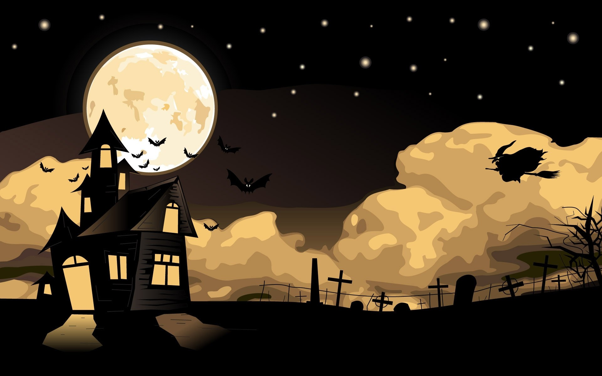 Halloween Witch Wallpaper