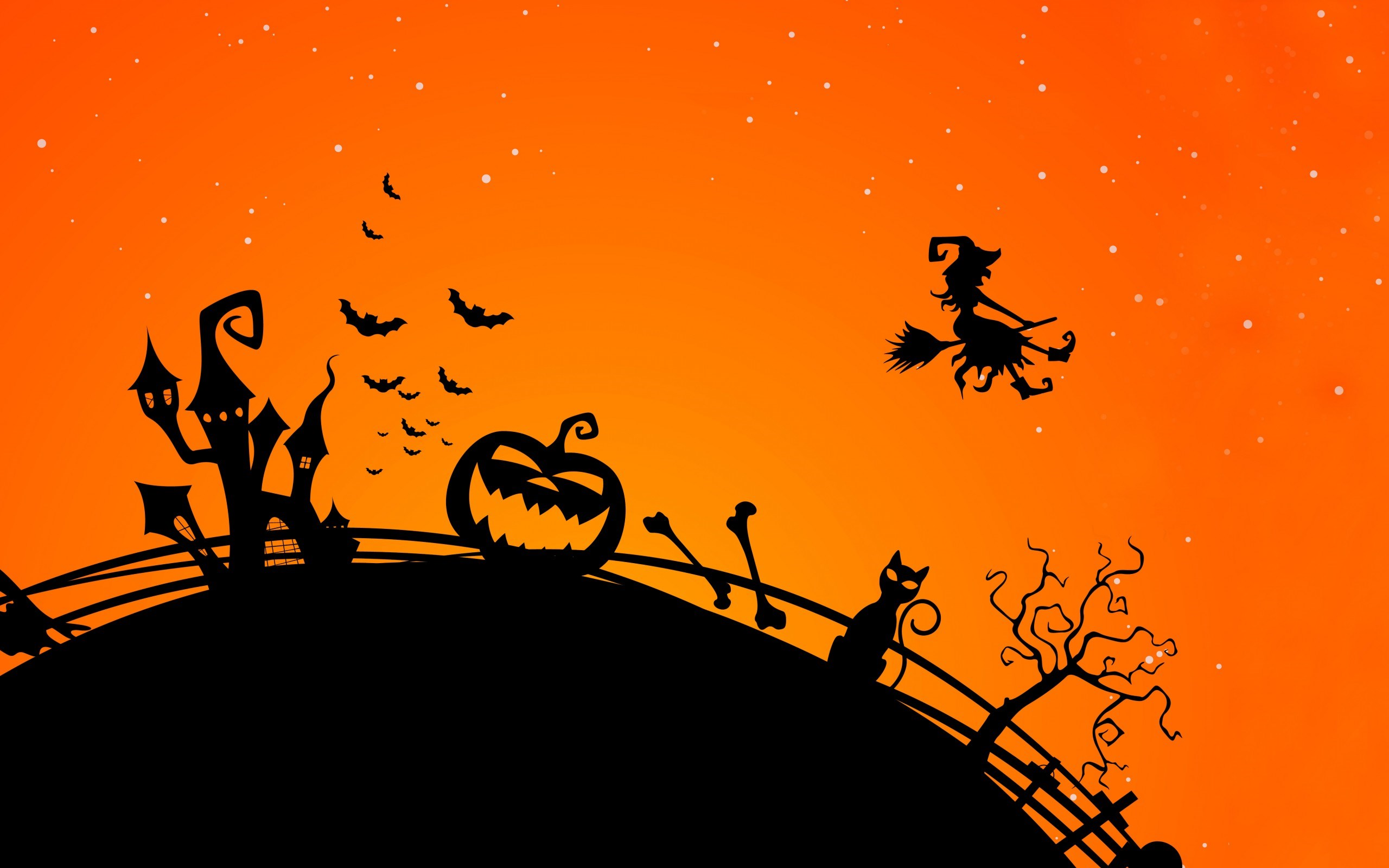 Halloween Witch Wallpaper3
