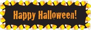 Happy Halloween Border Clip Art2