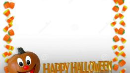 Happy Halloween Border2 800×600