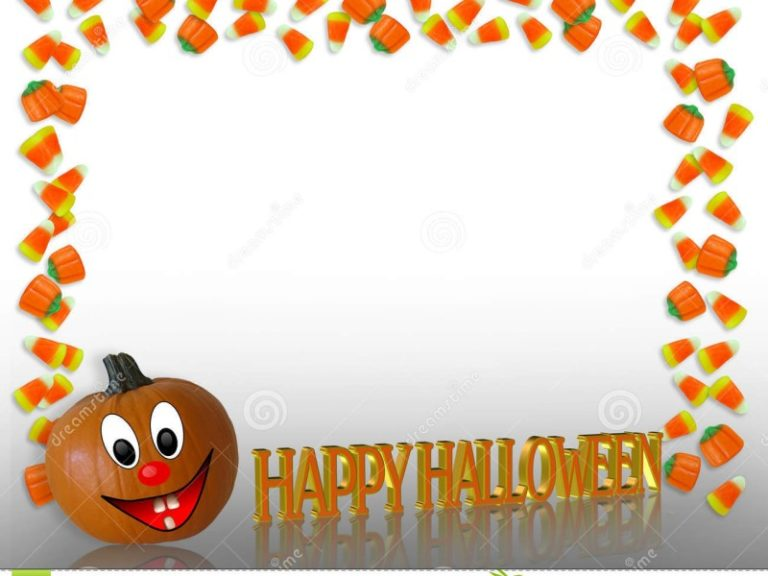 Happy Halloween Border2 800×600 768×576