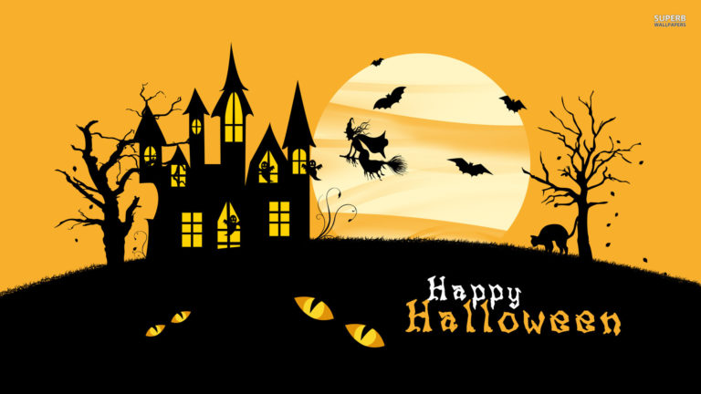 Happy Halloween Desktop Wallpaper2 768×432