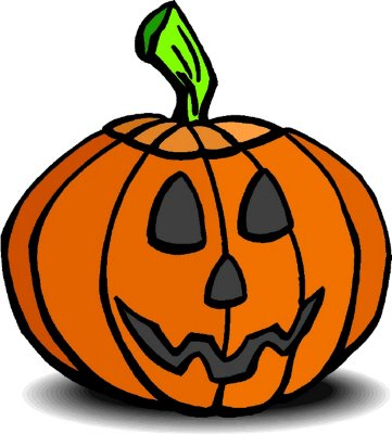Happy Halloween Pumpkin Clip Art1