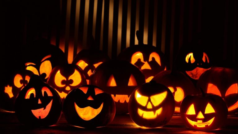 Happy Halloween Pumpkin Wallpaper2 768×432