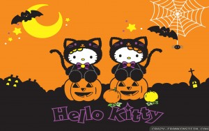 Hello Kitty Halloween Wallpaper For Computer 300×188