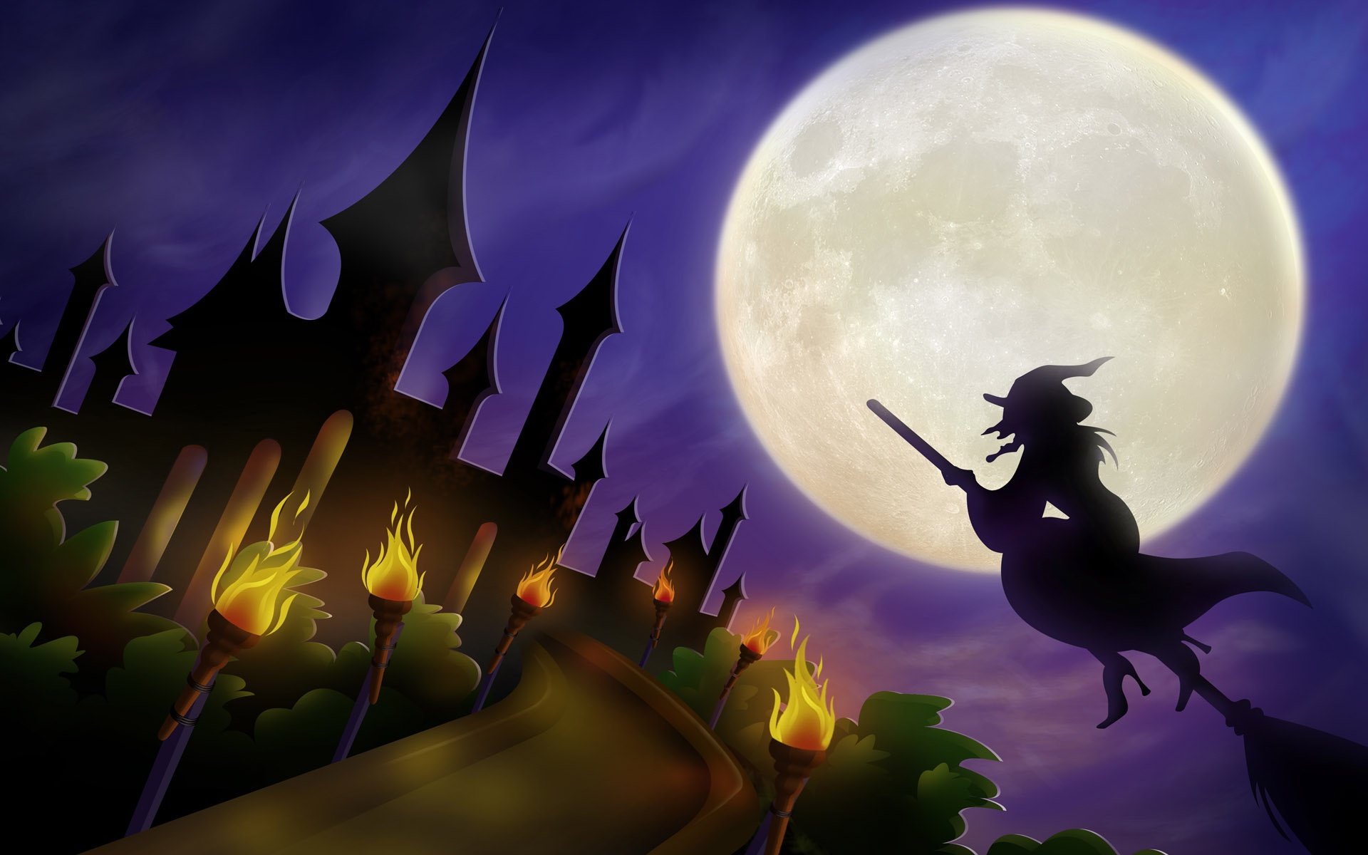 High Res Halloween Wallpaper