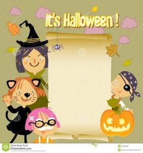 Kids Halloween Background 281×300