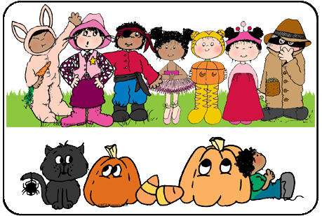 Kids Halloween Clip Art Pictures1