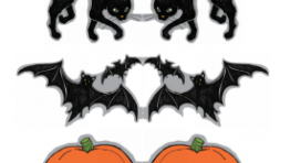 Martha Stewart Clip Art Templates Halloween4 275×300