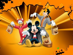 Mickey Mouse Halloween Wallpaper2 300×225
