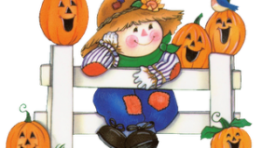 October Halloween Clip Art 300×231