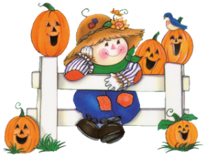 October Halloween Clip Art 300×231
