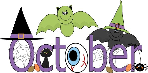October Halloween Clip Art1