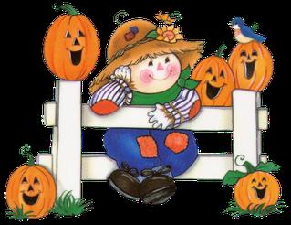 October Halloween Clip Art1