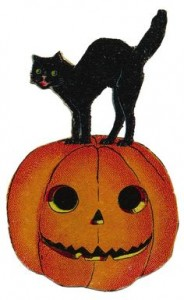 Old Fashioned Halloween Clip Art 184×300
