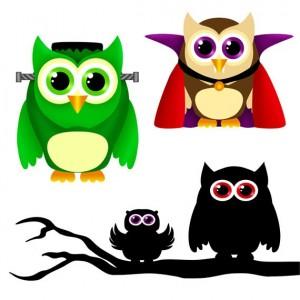 Owl Halloween Clip Art3 300×300