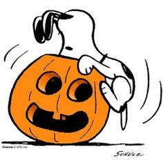Peanuts Halloween Clip Art1