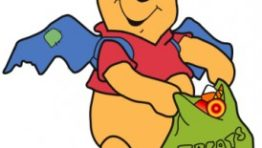 Pooh Halloween Clipart1 274×300