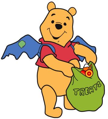 Pooh Halloween Clipart1