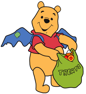 Pooh Halloween Clipart3