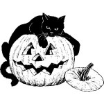 Public Domain Halloween Clip Art7 150×150