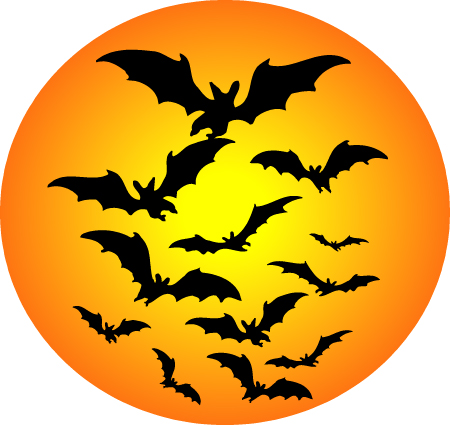 Scary Halloween Clip Art Free1