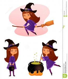 Sexy Happy Halloween Clip Art2 261×300
