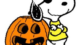 Snoopy Halloween Clip Art1 300×300