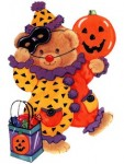Teddy Bear Halloween Clipart4 113×150
