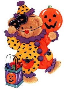 Teddy Bear Halloween Clipart4