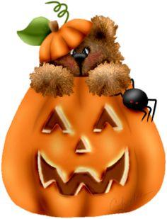 Teddy Bear Halloween Clipart5