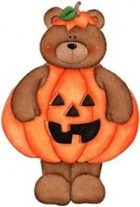 Teddy Bear Halloween Clipart6 203×300