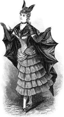Victorian Halloween Clip Art Free1