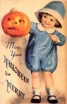 Vintage Halloween Postcards Clip Art7 97×150
