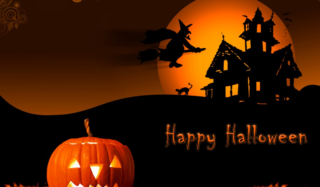 Widescreen Halloween Wallpaper