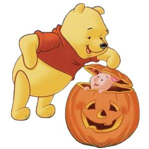 Winnie Pooh Halloween Clip Art3