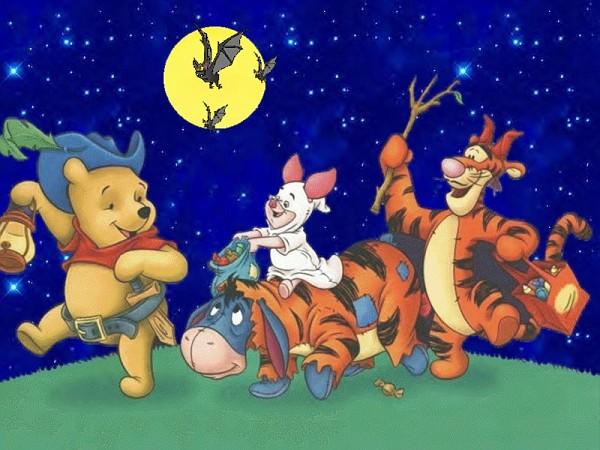 Winnie The Pooh Halloween Wallpaper3
