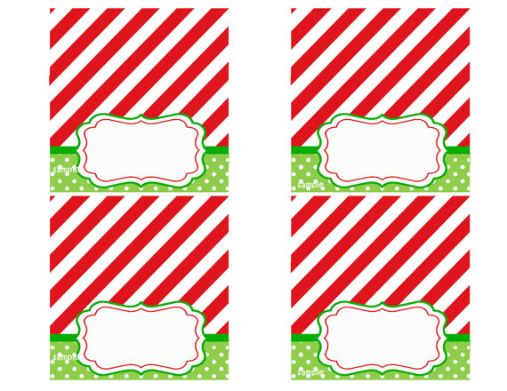 Christmas Printable Place Cards: theartmad.com/032-christmas-printables/christmas-printable-place...