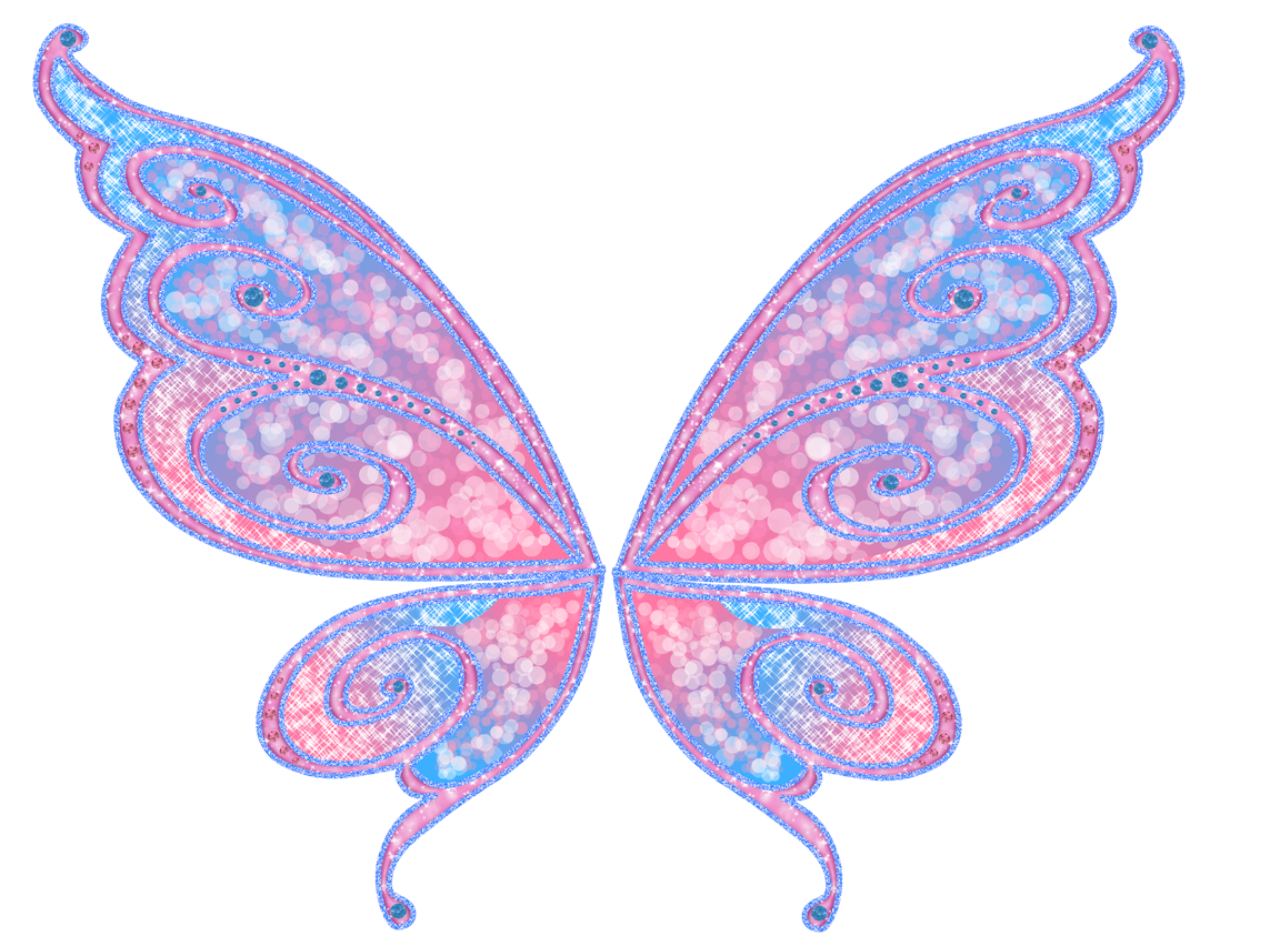 how to draw easy fairy wings