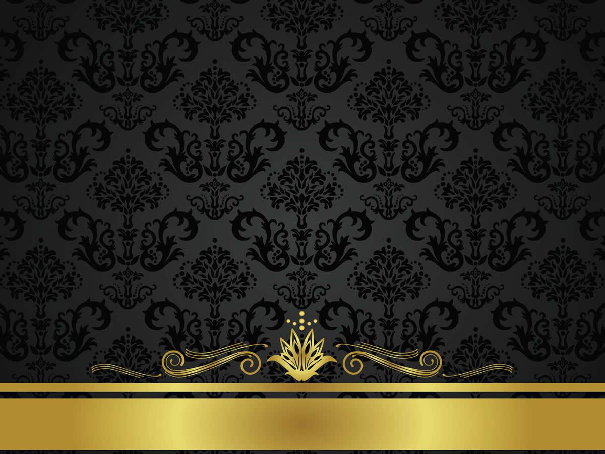 Silver wallpaper border joy studio design gallery best for Gold wallpaper designs