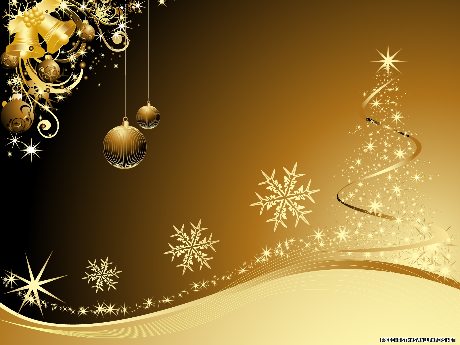 christmas gold background golden - photo #2