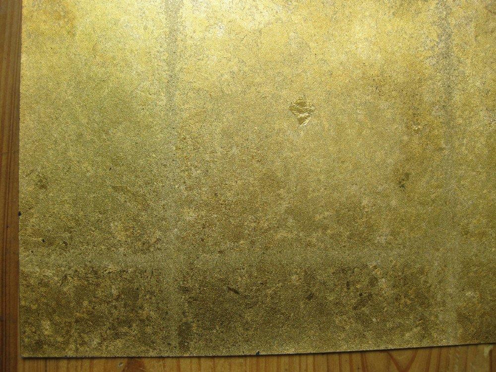 Gold Leaf Wallpaper