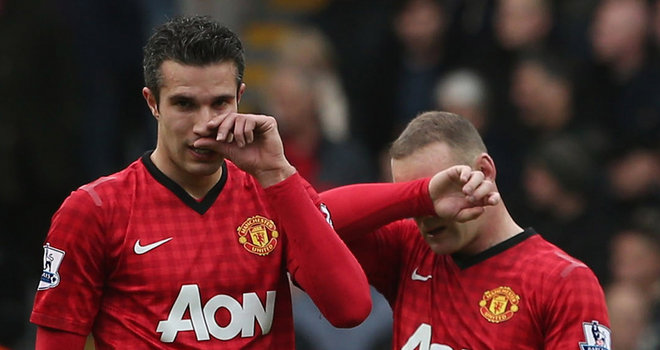 Wayne Rooney And Robin Van Persie Wallpaper Wayne Rooney And Robin Van Persie Wallpaper