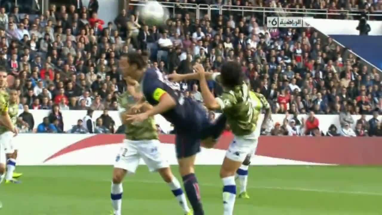 Zlatan Ibrahimovic Scorpion Kick Gif